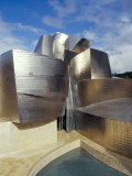 Guggenheim Museum  Designed by American Architect Frank O Gehry  Opened 1997  Bilbao