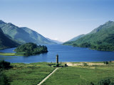 Glenfinnan and Loch Shiel  Highland Region  Scotland  United Kingdom