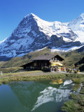 The Eiger  Kleine Scheidegg  Bernese Oberland  Swiss Alps  Switzerland