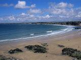The Main Beach  Newquay  Cornwall  England  United Kingdom