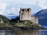 Eilean Donan Castle  Highland Region  Scotland  United Kingdom
