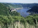 River Rhine  Rhineland  Germany