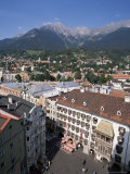 Old Town with Goldenes Dachl  Innsbruck  Austria
