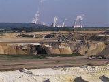 Brown Coal Mining  Bergheim  Near Cologne  Germany