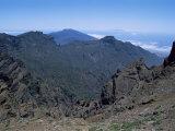 Caldera De Taburiente  La Palma  Canary Islands  Spain