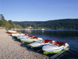 Lake Titisee  Black Forest  Baden-Wurttemburg  Germany