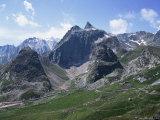 San Bernadino Pass  Swiss Alps  Switzerland