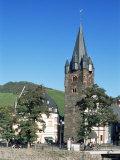 Bernkastel-Kues  Mosel Valley  Rheinland-Pfalz  Germany