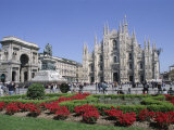 Piazza Del Duomo  Milan  Lombardy  Italy
