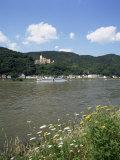 Stolzenfels Castle  Near Koblenz  Rhine Valley  Germany