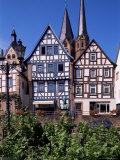 Framework at Market Square  Gelnhausen  Hesse  Germany