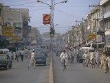 Street Scene  Rajah Bazaar  Rawalpindi  Punjab  Pakistan