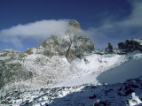 South East Face  Mount Kenya  Unesco World Heritage Site  Kenya  East Africa  Africa