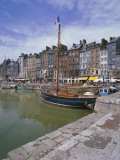 Harbour  Honfleur  Basse Normandie (Normandy)  France