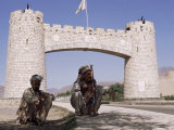 Gate to Khyber Pass at Jamrud Fort  Pakistan