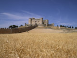 Castle and Walls  Belmonte  Castilla La Mancha  Spain