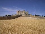 Castle and Walls  Belmonte  Castilla La Mancha  Spain