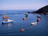 Fishing Boats  Sark  Channel Islands  United Kingdom
