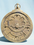 Arabic Brass Astrolabe Dating from 16th Century  Damascus Museum  Syria  Middle East