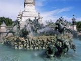 Monument Aux Girondins  Bordeaux  Gironde  Aquitaine  France