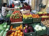 Street Market  Sanlucar De Barrameda  Andalucia  Spain
