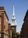 Old North Church  North End  Boston  Massachusetts  New England  USA