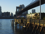 The River Cafe Under Brooklyn Bridge  Brooklyn  New York City  New York  USA