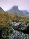 The Three Sisters  Glencoe  Highland Region  Scotland  United Kingdom