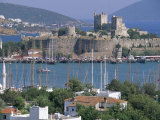 Bodrum and Bodrum Castle  Anatolia  Turkey