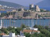 Bodrum and Bodrum Castle  Anatolia  Turkey
