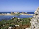 Rocks and Coast  Pors Bugalez  Brittany  France