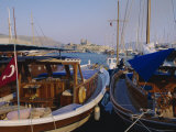 The Harbour  Bodrum  Anatolia  Turkey