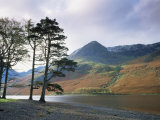 Buttermere  Lake District National Park  Cumbria  England  United Kingdom