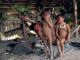 Yanomami Children  Brazil  South America