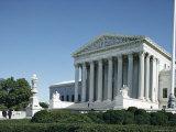 Supreme Court Building  Washington DC  USA