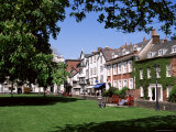 Cathedral Close  Exeter  Devon  England  United Kingdom