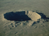 Meteor Crater  the Largest Known in the World  Arizona  USA