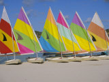 Sail Boats on the Beach  St James Club  Antigua  Caribbean  West Indies  Central America