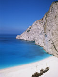 Shipwreck Cove  Kefalonia  Ionian Islands  Greece