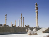 The Apadana (King's Audience Hall)  Persepolis  Unesco World Heritage Site  Iran  Middle East
