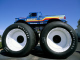 Huge Tyres  Big Foot  Customised Car  USA