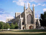 Winchester Cathedral  Winchester  Hampshire  England  United Kingdom