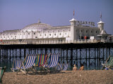 Brighton Pier (Palace Pier)  Brighton  East Sussex  England  United Kingdom