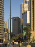 High Rising Buildings and Sheraton City Tower Hotel  Ramat Gan  Tel Aviv  Israel  Middle East