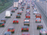 Heavy Traffic on Motorway  United Kingdom