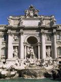 Trevi Fountain  Rome  Lazio  Italy
