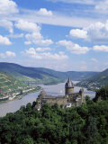 Stahleck Castle  Bacharach  Rhineland  Germany