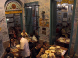 La Bodeguita Del Medio Restaurant  with Signed Walls and People Eating  Habana Vieja  Cuba