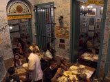 La Bodeguita Del Medio Restaurant  with Signed Walls and People Eating  Habana Vieja  Cuba