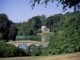 Stourhead  Wiltshire  England  United Kingdom